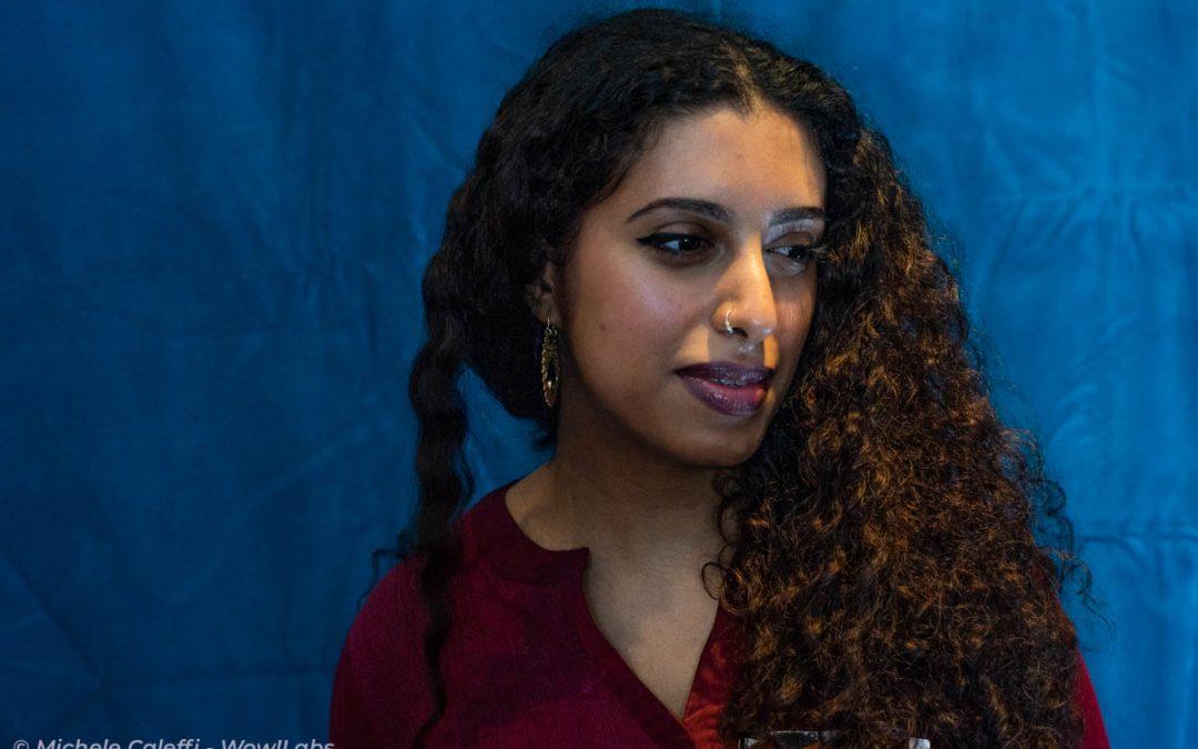 Ahlam, the first female yemeni street-artist