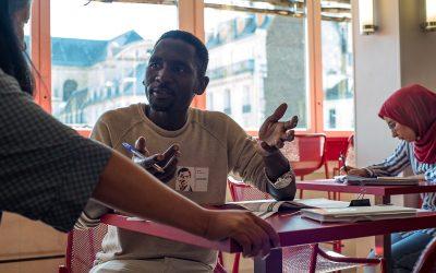 Abdullah, a tech-savvy teacher in the era of the gig economy